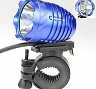 4-Mode  1 x Cree XM-L2 T6  Cycling White Light Bicycle Headlamp  (1000lm, 4 x 18650, Blue)