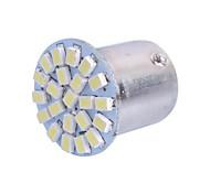 1157 2W 6000K 120LM 22x3020 SMD White LED for Car Brake Light (DC12-24V, 1Pcs)
