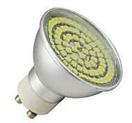 4W GU10 Spot LED MR16 80 SMD 3528 310-340 lm Blanc Chaud AC 100-240 V