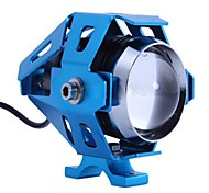 moto conversión de faros motocicleta faros LED super brillante luz azul-