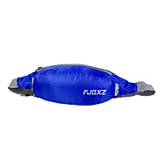 FJQXZ Nylon Fabric Polyester Lining Dark Blue Waterproof Cycling Waist Bag