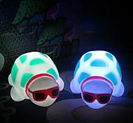 Multicolor Turtle Cute Design Plastic Night Light (1pcs)