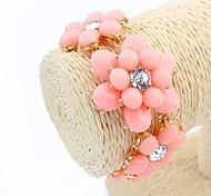 style européen douce bracelet de fleurs sauvages (plus de couleurs)
