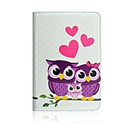 Pink Love Pattern 360 Degree Rotation Case for iPad mini 3, iPad mini 2, iPad mini