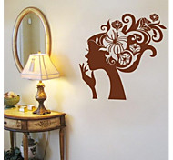 JiuBai™ Flower Beauty Wall Sticker Wall Decal, 58CM*58CM