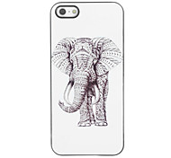 Elephant Design Aluminium Hard Case for iPhone 4/4S