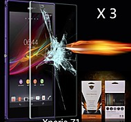 Ultimate Shock Absorption Screen Protector for Sony-Ericsson L39h Xperia Z1 (3PCS)