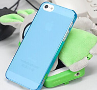 IMMI-T2 New Fashion Ultra Thin Transparent Frosted Mobile Phone Case for iphone 5/5S
