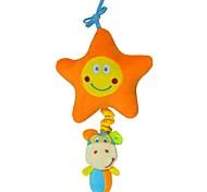 Babyfans ™ Baby Star and Monkey Cartoon Shaped Stuffed Music Educational Toys