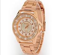 Women's New Rhinestone Rose Gold Watch