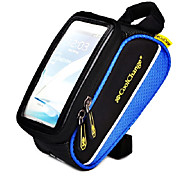 Bike Frame Bag / Cell Phone Bag Cycling/Bike For Quick Dry / Rain-Proof / Dust Proof / Shockproof / Wearable / Touch Screen , Blue ,600D
