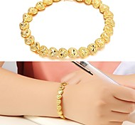 Beautiful Love Flower Gift Plating 18K Gold Bracelet