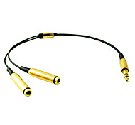 Male to Female Audio Cable for Computer Phone CD 0.25M 0.8FT
