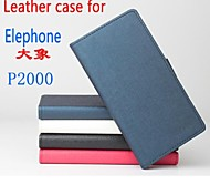 Protective Leather Flip Case Cover for Elephone P2000 Smartphone Phone Cases 4-color