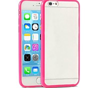Candy Color Frosted Back Case for iPhone 6(Assorted Color)