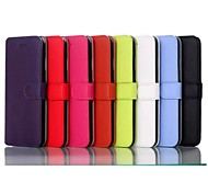 5.5 Inch Luxury Pattern PU Wallet Leather Case for iPhone 6 Plus(Assorted Colors)