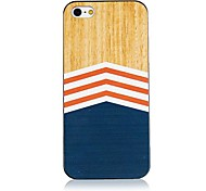 Wave Line Pattern Back Case for iPhone 4/4S