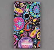 Soft Silicone Vivid Jellyfish Style Skin  Cover Back for Nokia Lumia 925