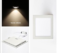 6 W 30 SMD 2835 450 LM Warm White Recessed Retrofit Ceiling Lights/Panel Lights AC 85-265 V
