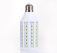 XM E26/E27 15W 82 SMD 5730 1200-1400LM LM Natural White T Decorative LED Corn Lights AC 110-130 / AC 220-240 V