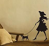 arte da parede para casa a decoração da parede adesivo de parede decalque jiubai ™, 58 centímetros * 58 centímetros