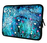 Elonno Flower Notes 13'' Laptop Neoprene Protective Sleeve Case for Macbook Pro/Air Dell HP Acer