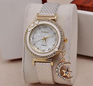 Women's Fashion Drill Moon Pendant Conchiglie Watches(Assorted Colors)