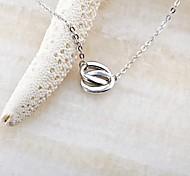 Classic O&O925 Silver Plated Platinum Necklace (1 Pc)