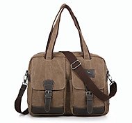 14 inch Retro High-Capacity Canvas Laptop Bag Case For 14 inch Notebook Computer