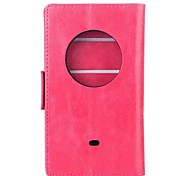 Oil Wax Leather TPU and PU Full Body Case with Card for Nokia Lumia 1020 (Assorted Colors)