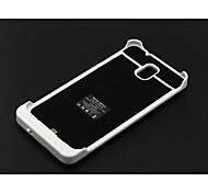 4200mAh branco caixa de bateria externa para samsung galaxy nota 3 n9005 w / stand