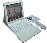 Wireless Bluetooth Keyboard Silicone Leather Case for iPad 4/3/2 (Assorted Colors)