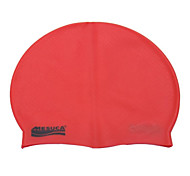 MESUCA® Massage Swim Cap Assorted Color Dark Purple Orange Grey Red Black