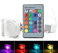 RGB-LED Acryldeckenleuchte mit Fernbedienung - weiß (ac85-265v) 220lm 3w