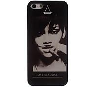 Frau Design-Alu-Hülle für das iPhone 5 / 5s