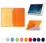 natusun ™ custodia rigida più volte smart cover in pelle pu ultra-sottile rimovibili di plastica per ipad mini 3 (colori assortiti)