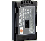 DSTE 7.4v 1450mAh batteria D08S per PANASONIC NV-GS11 pv-dv203 fotocamera DZ-MV100