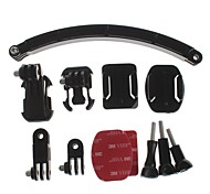 YuanBoTong  Bending Helmet Self-Rod Kits for GoPro Hero3+/3/2/1