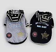 coolen männlichen Kleidung mit Kapuzenpullover für Hunde Haustiere (verschiedene Größen, Farben)