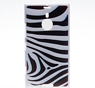 Kinston Zebra Pattern Plastic Hard Case for Nokia Lumia 1520