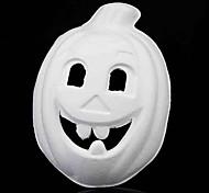 Kürbis weißem Papier Sachen Unisex-Halloween-Party-Maske