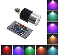 E26/E27 10 W Integrate LED 800 LM RGB Remote-Controlled Spot Lights AC 85-265 V