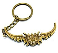 Weapon Bronze Alloy  Keychain (1 Pc)