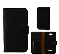 Luxury PU Leather Flip Case Cover with Card Slot And Stand for HTC Desire 616 D616W