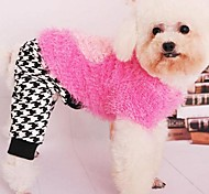 Pet Fashion Joker Black And White Squares Leggings for Pets Dogs(Assorted Sizes)