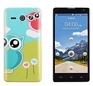 Loving Hearts & Owls Hard Back Case for Huawei Ascend Y530