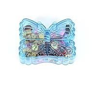 Creative Box Animal Rubber Butterfly(1 Set Random Color)