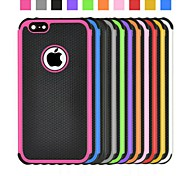 Angibabe 2 in 1 Football Grain Pattern Plastic and Silicon Cover iPhone 6(Assorted Colors)