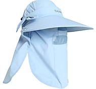 nylon das mulheres pgm + luz azul de malha respirável à prova de sol anti-uv chapéu de sol de golfe