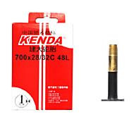 KENDA 700*28/32c Butyl Rubber FV 48mm Bike Tube